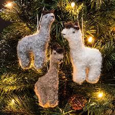 backorder 11 24 rf530a fuzzy alpaca ornament