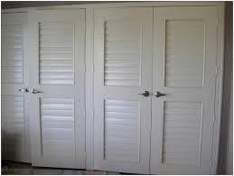 decor modern bedroom decoration with louvered closet doors also