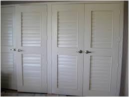 White Shutter Closet Doors Decor Modern Bedroom Decoration With Louvered Closet Doors Also