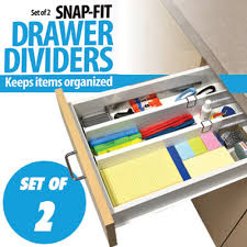 Desk Drawer Organizer by Drawer Dividers Desk Organizer As Seen On Tv Com Shop