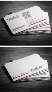 another transparent plastic business card template from