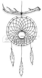 indian dream catcher american indians ethnic sketch style