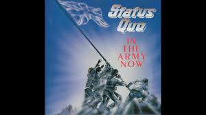 army photo album status quo in the army now album 1986 hq