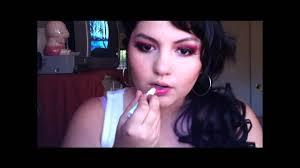 naughty nurse inspired halloween makeup part 2 youtube