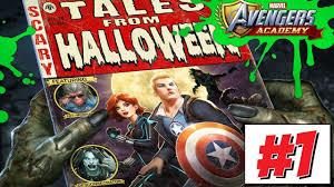 marvel avengers academy halloween event 1 2017 youtube