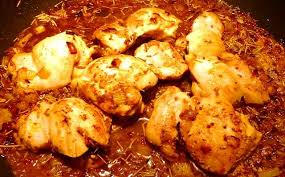 cuisiner haut de cuisse de poulet haut de cuisse de poulet sauté au sirop d érable et moutarde dans