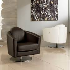 Living Room Swivel Chairs by Living Room Excellent Black And White Leather Swivel Chair Living