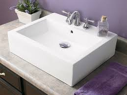 vessel sink bathroom ideas faucets the right one for your bathroom decolav s stay in the