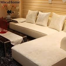 Plush Leather Sofas by Aliexpress Com Buy European Leather Sofa Cushion Plush Sofa