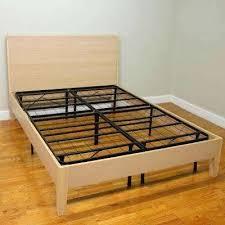 Bed Frame Without Wheels Bed Frame Without Wheels Diy King Platform Bed Frame More