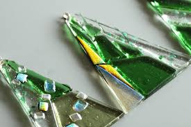 fused glass ornaments what s