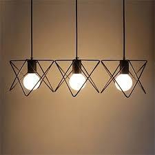 suspension 3 les pour cuisine suspension à 3 lumières led en métal l50cm le de cuisine salle