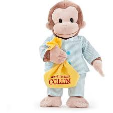 personalized curious george 16