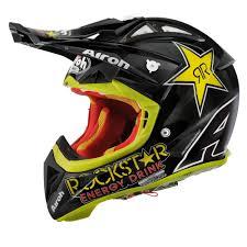 ufo motocross helmet airoh 2014 aviator 2 1 rockstar mx helmet
