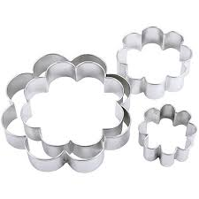 nesting metal cookie cutters blossom 4 pack 5928727 hsn