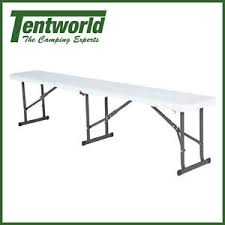Lifetime 6ft Folding Table Lifetime 6ft Folding Bench Seat Ebay