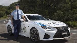lexus mobil mobil sport lexus rc f jadi armada baru polisi australia