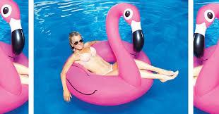 amazon pool floats amazon cute pink flamingo pool float just 7 51