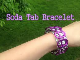 diy soda pop tab bracelet