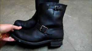women s black motorcycle boots using frye 8r engineer boots for motorcycle boots made in usa