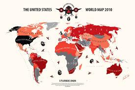Usa World Map by American U0027s World Map