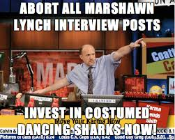 Marshawn Lynch Memes - abort all marshawn lynch interview posts invest in costumed dancing