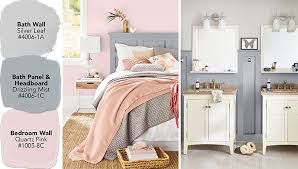 Bedroom And Bathroom Ideas Color Ideas For A Coordinated Bedroom And Bathroom