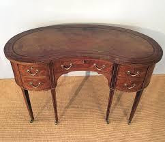 Kidney Bean Shaped Desk Antique Kidney Shaped Desk Antique Writing Table Edwardian