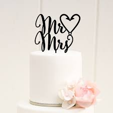 mr and mrs wedding cake toppers mr mrs fishing hook heart wedding cake topper wedding for