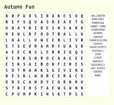 thanksgiving ii word search