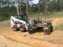 the new bobcat automatic sonic slope kit for grader to suit