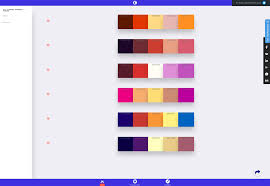 Minimalist Color Palette 2017 by What U0027s New For Designers January 2017 Webdesigner Depot