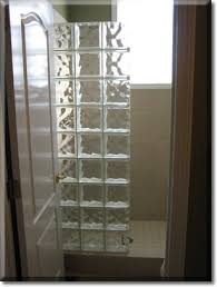 glass block bathroom ideas glass block showers glass block is always but would it take