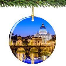 vatican st peters ornament porcelain