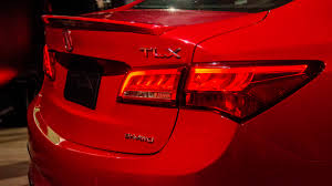 2018 acura tlx new york auto show news and a spec handling pack