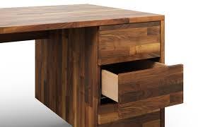 Schreibtisch Walnuss Melbourne Aus Nussbaum U2013 Schreibtisch Nach Maß