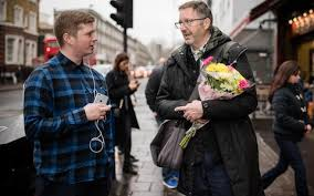 strangers flowers vicar acts on navy officer s last order to give flowers to strangers