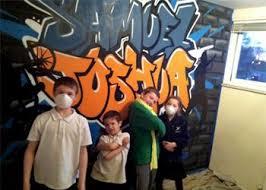 graffiti boys bedroom noah graffiti bedroom interior design feature wall www