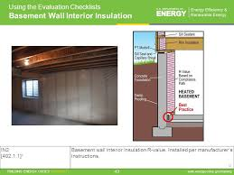 R Value Insulation For Basement Walls by Residential Evaluator Training Ppt Download