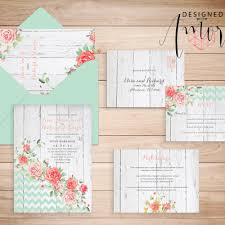 printable wedding invitation kits printable invitation sets designed with custom invitations