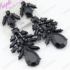 clip on chandelier earrings clip on chandelier fashion earrings ebay