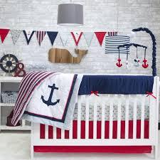 Nautical Crib Bedding Pam Grace Creations Nautical 6 Crib Bedding Set Reviews