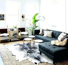 livingroom rugs cow hide rug staggering cowhide rug living room room metallic