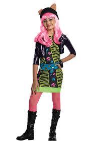 halloween wolf costume amazon com monster high howleen costume large toys u0026 games
