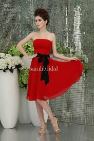 84 best red black and white bridesmaids dresses images on