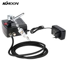 dual action airbrush air compressor kit art painting tattoo
