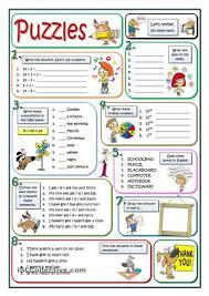 esl worksheets for elementary students worksheets