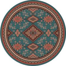 8 Foot Round Area Rugs by Southwest Rugs 8 Ft Round Rhinestone River Rug Lone Star Western