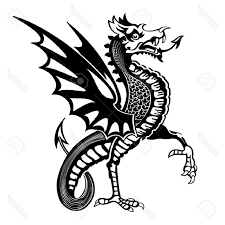 best medieval dragon tattoos vector cdr free vector art images