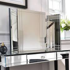 Makeup Vanity Canada Mirrored Makeup Vanity Set Home Design Ideas